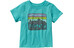 Patagonia Baby Fitz Roy Skies Cotton T-Shirt Howling Turquoise